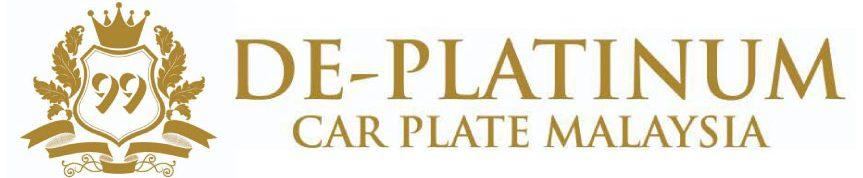De-Platinum Car Plate Malaysia